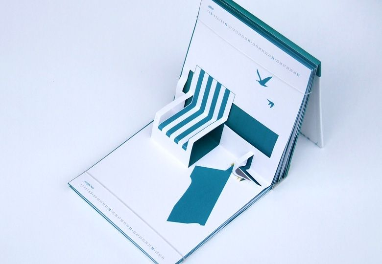 Popup calendar - Packaging - Sakál Design - packaging design, packaging designer - Róbert Sándor