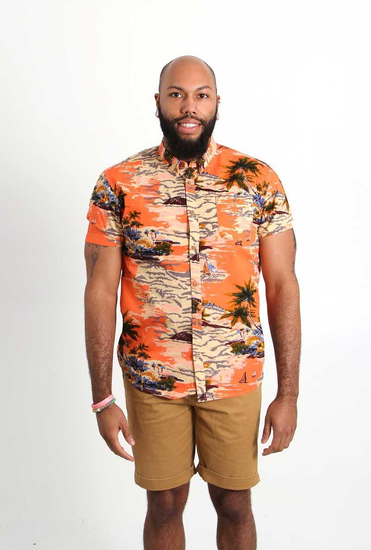 c3d9e4d064 Artistry in Motion Hawaiian Print Shirt for Men