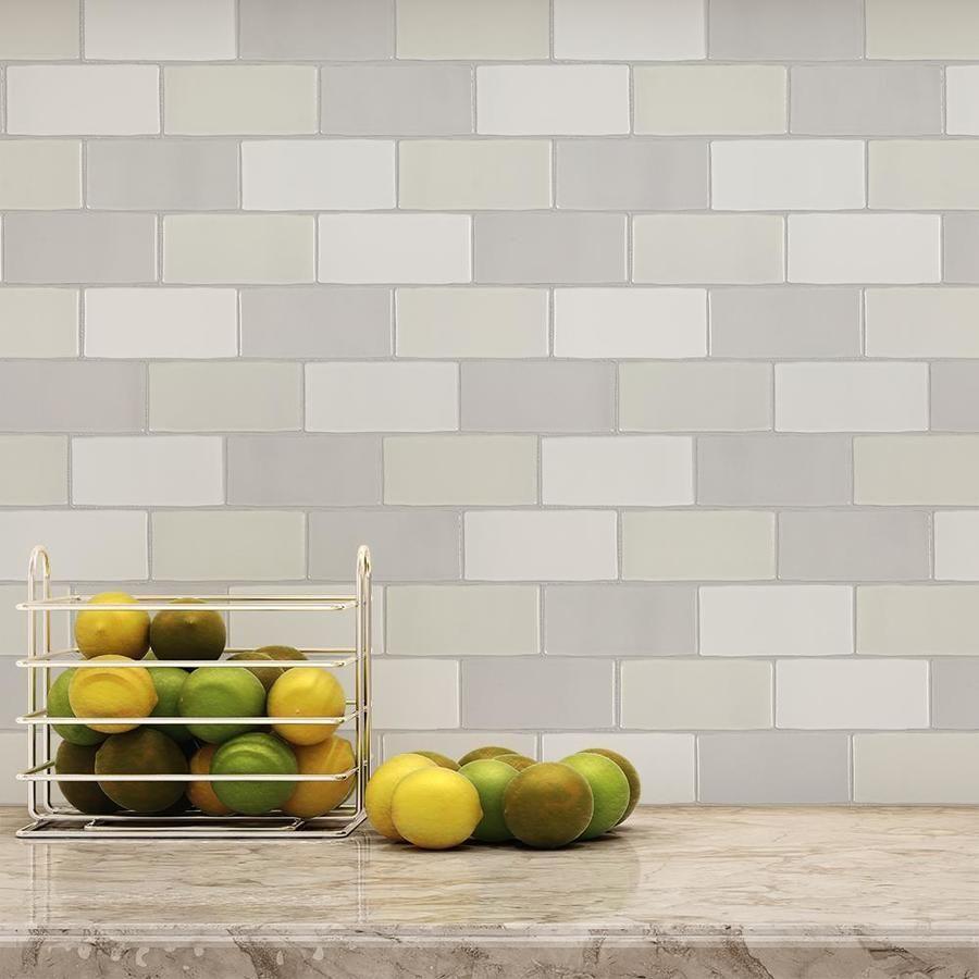 - Subway Ceramic Mosaic Tile Classic Blend 2x4 Ceramic Mosaic Tile