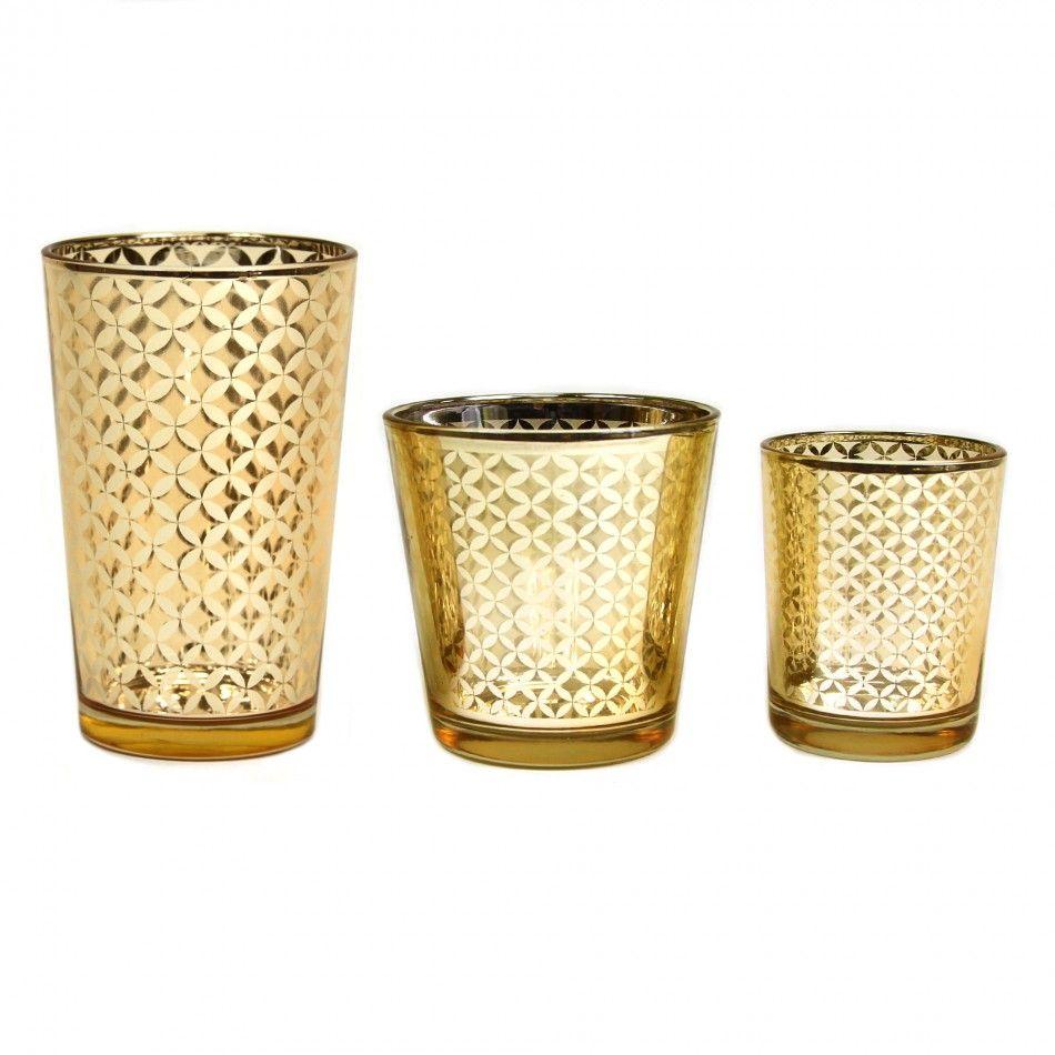 glass votive candle holders 4 lattice gold votive holders 403359 wholesale wedding. Black Bedroom Furniture Sets. Home Design Ideas
