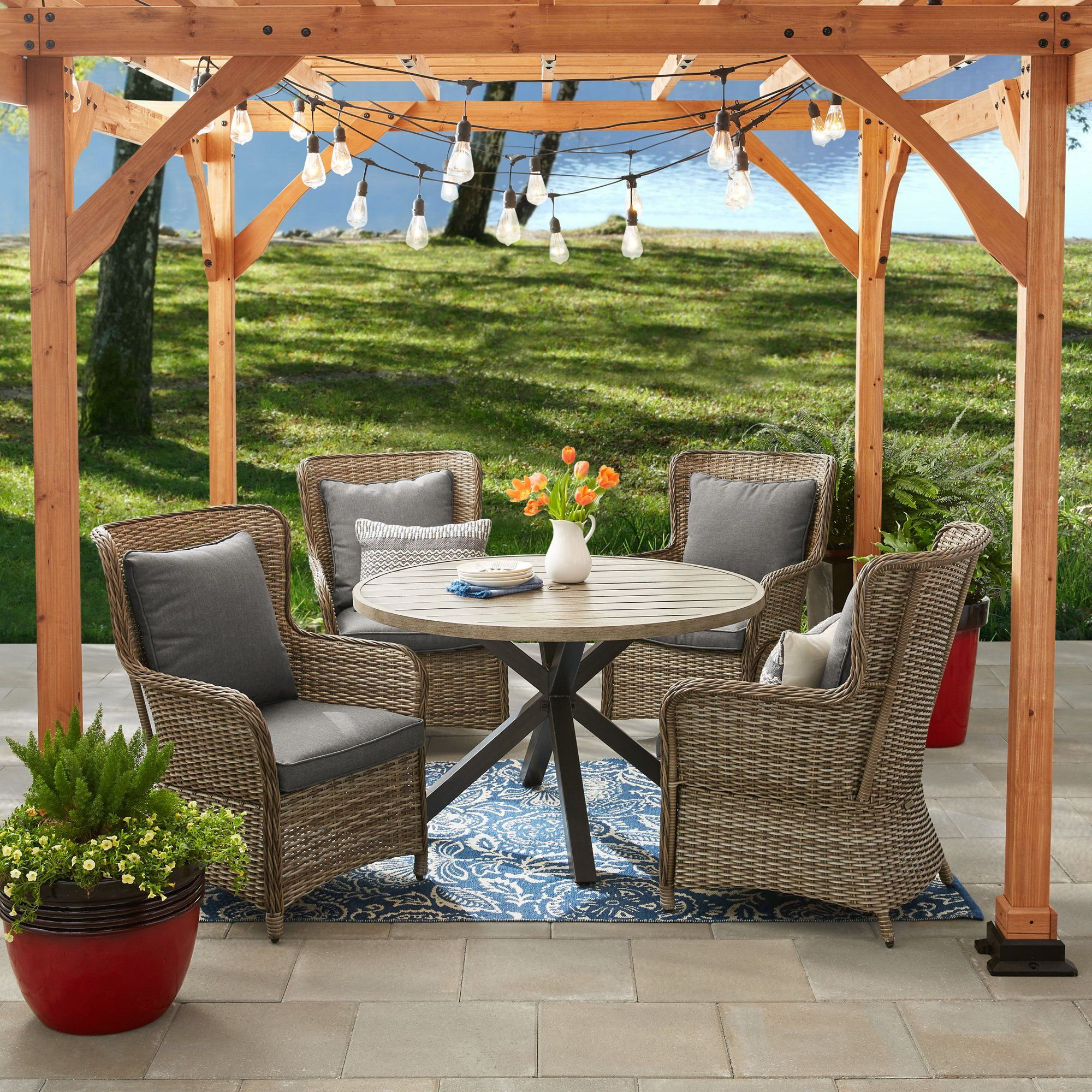 Better homes and gardens victoria outdoor dining patio set