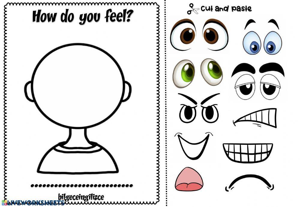 How Do You Feel Interactive Worksheet In 2021 Emotions Preschool Feelings How Are You Feeling Free printable feelings worksheets