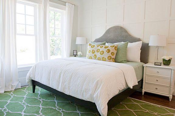 Dresser & Nightstands: Bungalow 5 Fairfax, available through Caitlin Creer;  West Elm headboard