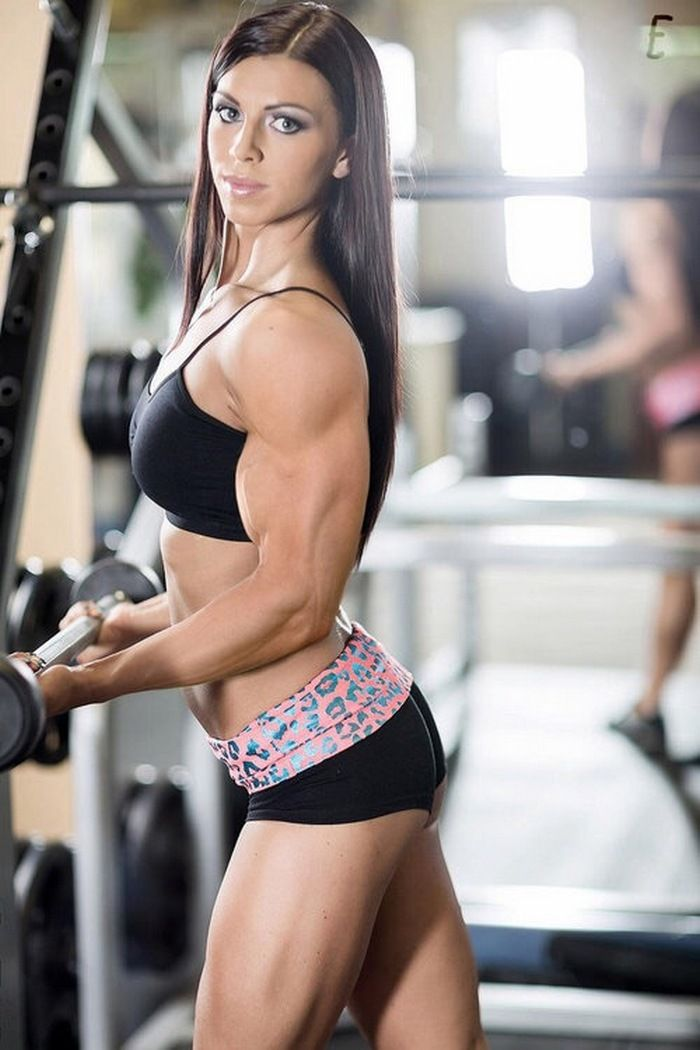 Hot sexy muscle women can ask