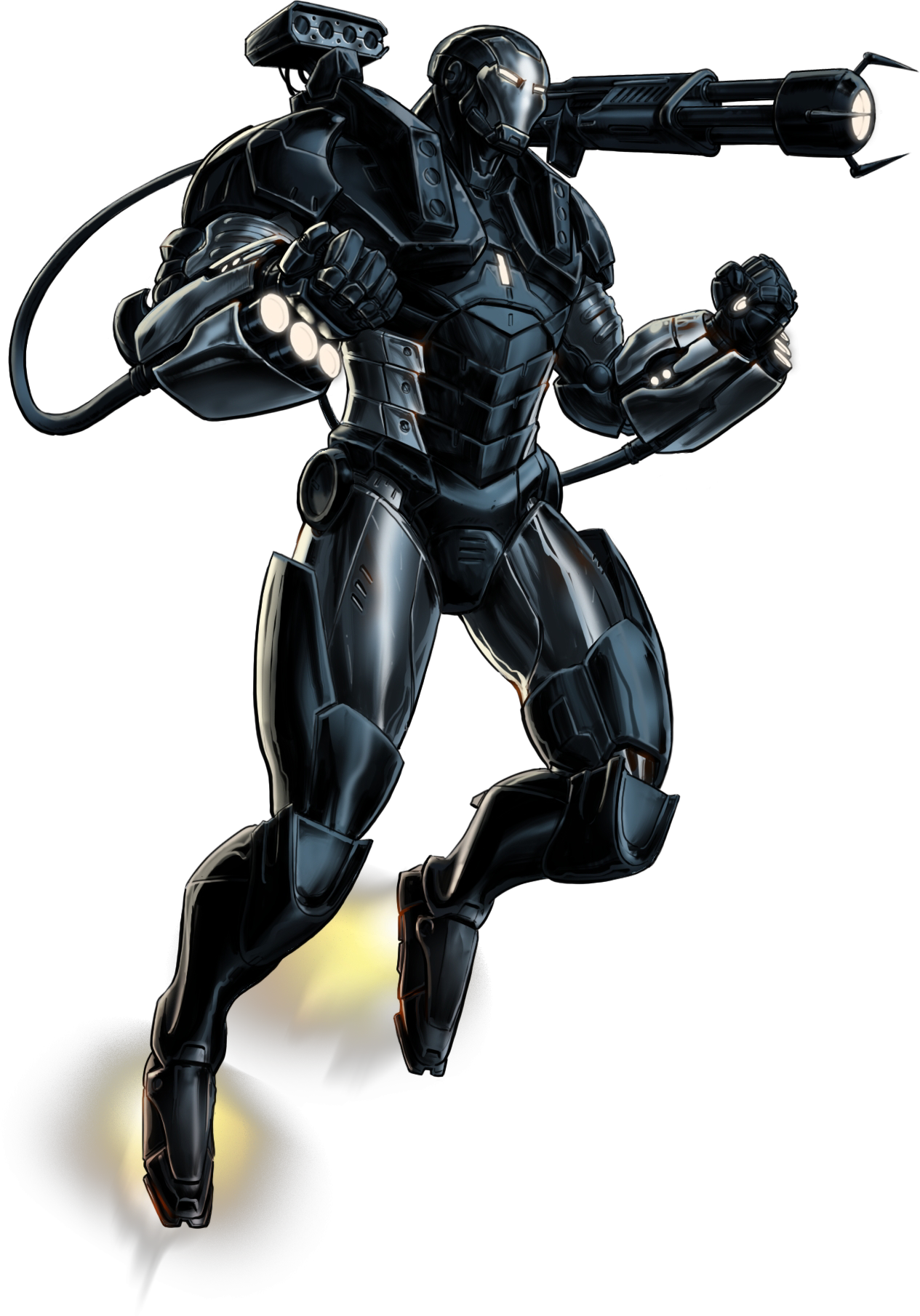 U S War Machine Parnell Jacobs War Machine Marvel Avengers