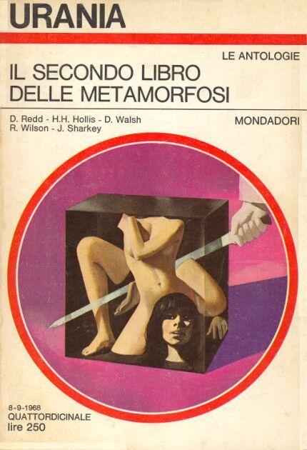 496  IL SECONDO LIBRO DELLE METAMORFOSI 8/9/1968   Copertina di  Karel Thole   AUTORI VARI