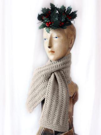 free pattern ..like the design | knitting | Pinterest | Scarf ...