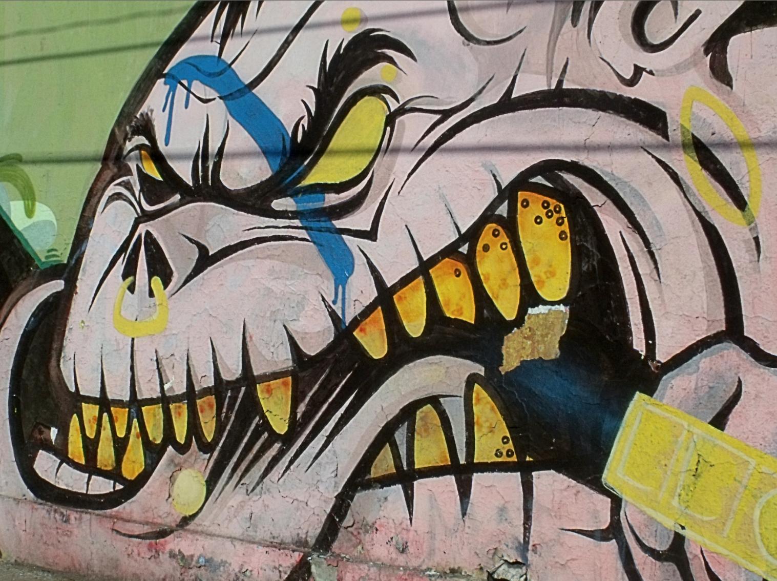 Grafitis de Quinta Normal, Santiago, Chile