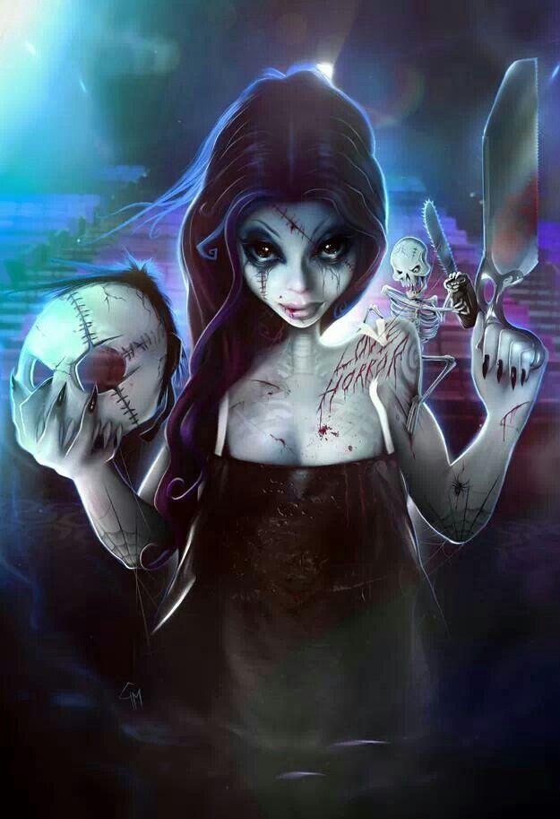 Sacramento horror film festival poster  2014 Rosalinda  Artist Gianluca  Mattia. Sacramento horror film festival poster  2014 Rosalinda  Artist