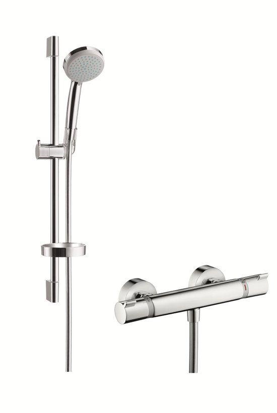 Hansgrohe Croma 100 Vario Douchecombinatie Badkamer Toilet