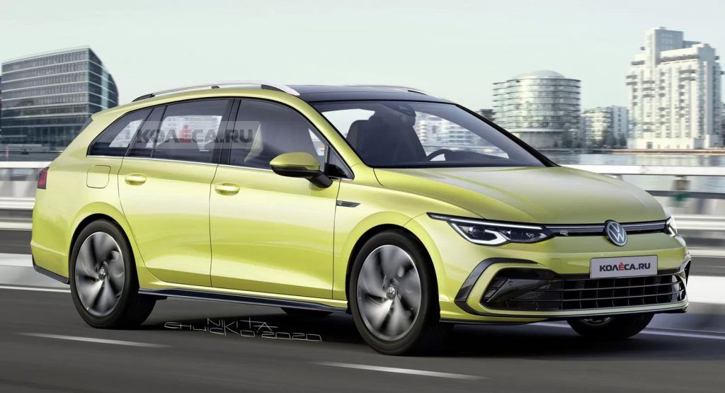 Picturing What The 2021 Vw Golf Variant Mk8 Will Look Like Is Easy Peasy Carscoops In 2020 Volkswagen Golf Vw Jetta Tdi Gti Car