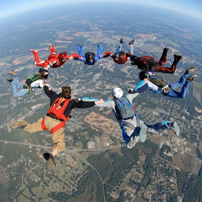 Skydive Skydiving Cool Pictures Lake Elsinore