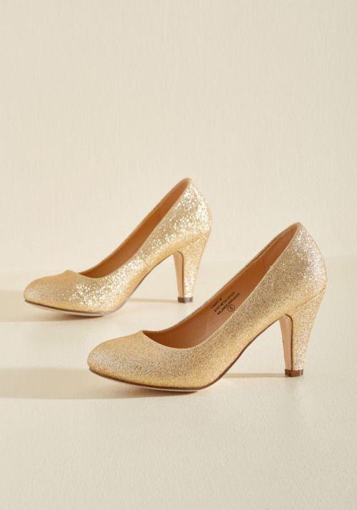 e8491e2b Mis preferidos de moda Zapatos De Fiesta Dorados, Zapatos Dorados Tacon,  Zapatillas Doradas,