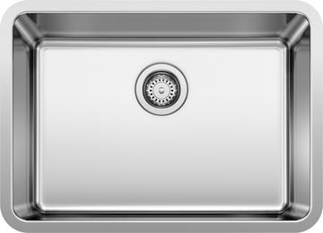 Formera 25 Medium Single Bowl Blanco Undermount Kitchen Sinks