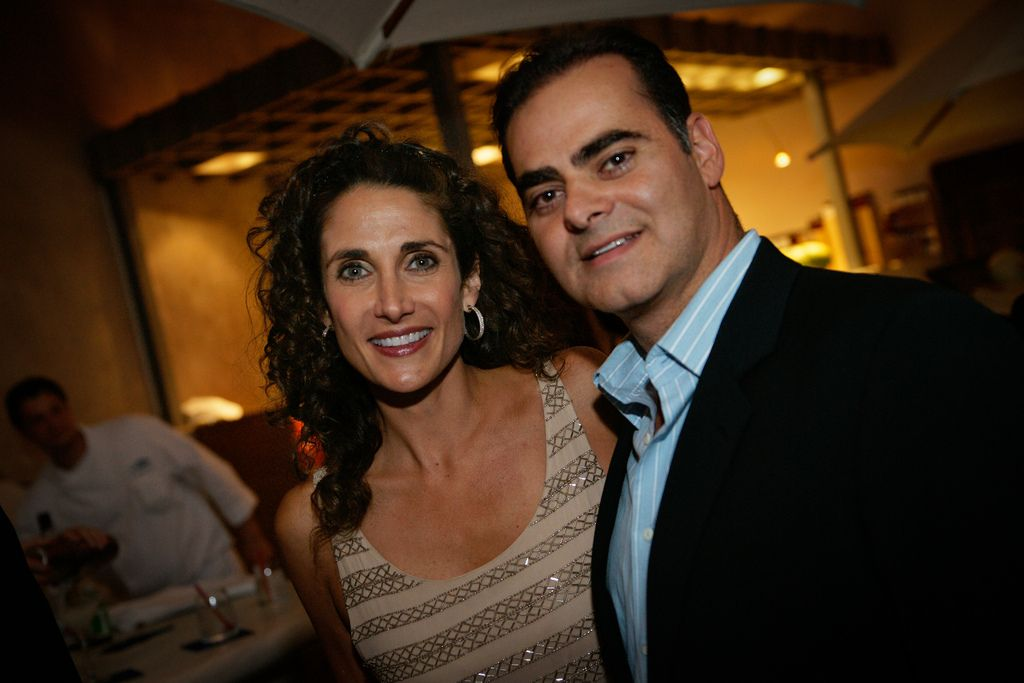 melina kanakaredes and peter constantinides : Married ...