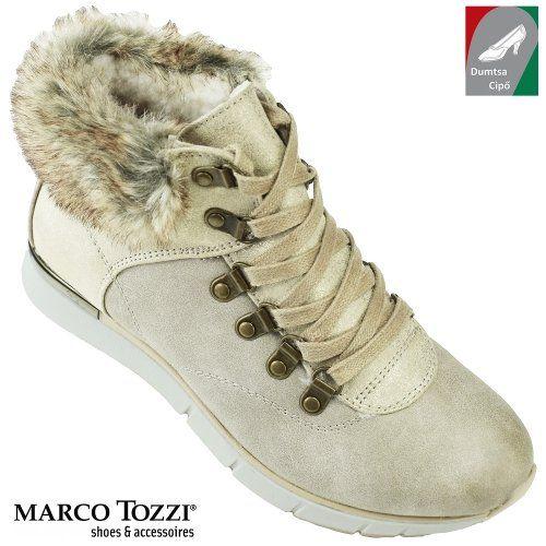 Marco Tozzi női cipő 2-26245-29 344 bézs kombi  aa6edf738d