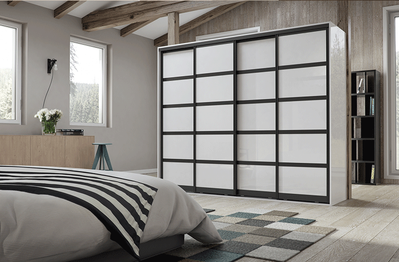 #Sliding #doors are an efficient, space saving choice to replace #traditionaldoors. Opening and closing such doors doesn't demand a lot of space, and they look good too