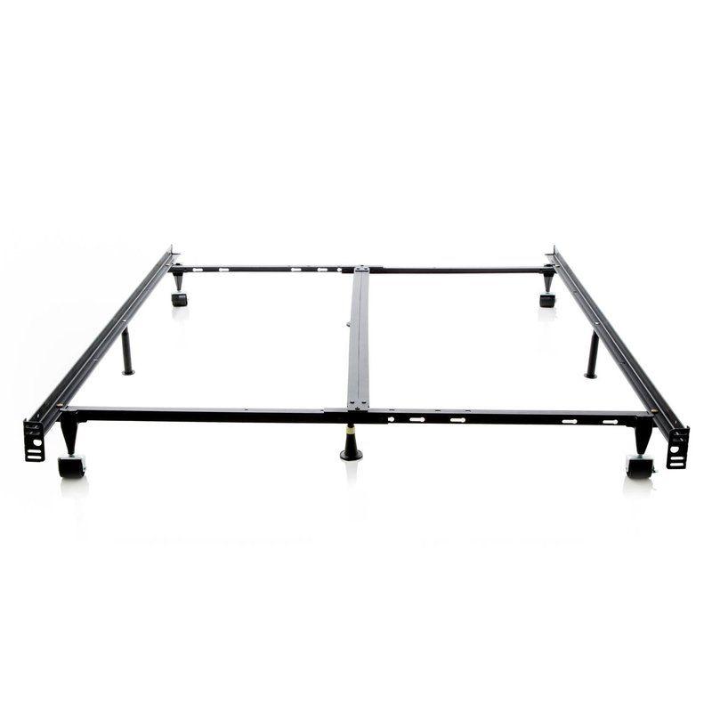 Tami Low Profile Bed Frame Reviews Allmodern Metal Bed Frame