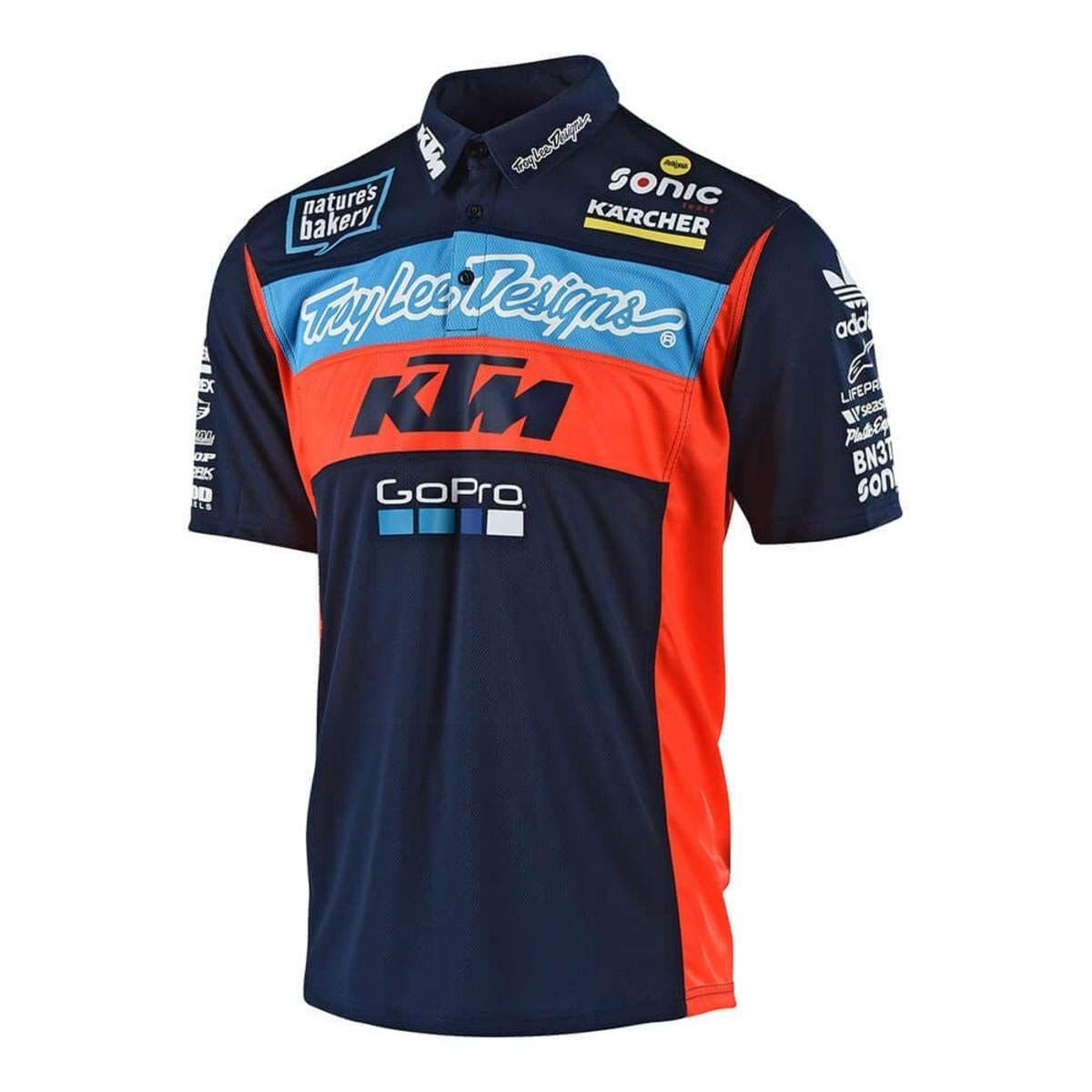 Troy Lee Designs Official Team KTM Licensed Pit Polo Shirt