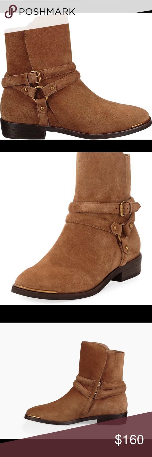 83e621a4079 UGG | Kelby Dark Chestnut Suede Ankle Boots Size 7 UGG KELBY dark ...
