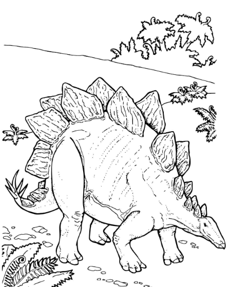 Get Stegosaurus Coloring Pages To Print Out Or Color Online On Dinosaursgames Net For Free This Color Dinosaur Coloring Pages Dinosaur Coloring Coloring Pages