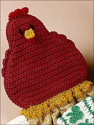 Crochet Towel Toppers For Your Autumn Kitchen Free Patterns