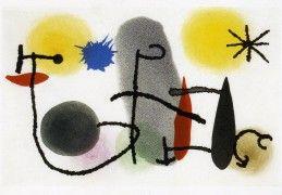 Joan Miro abstract painting