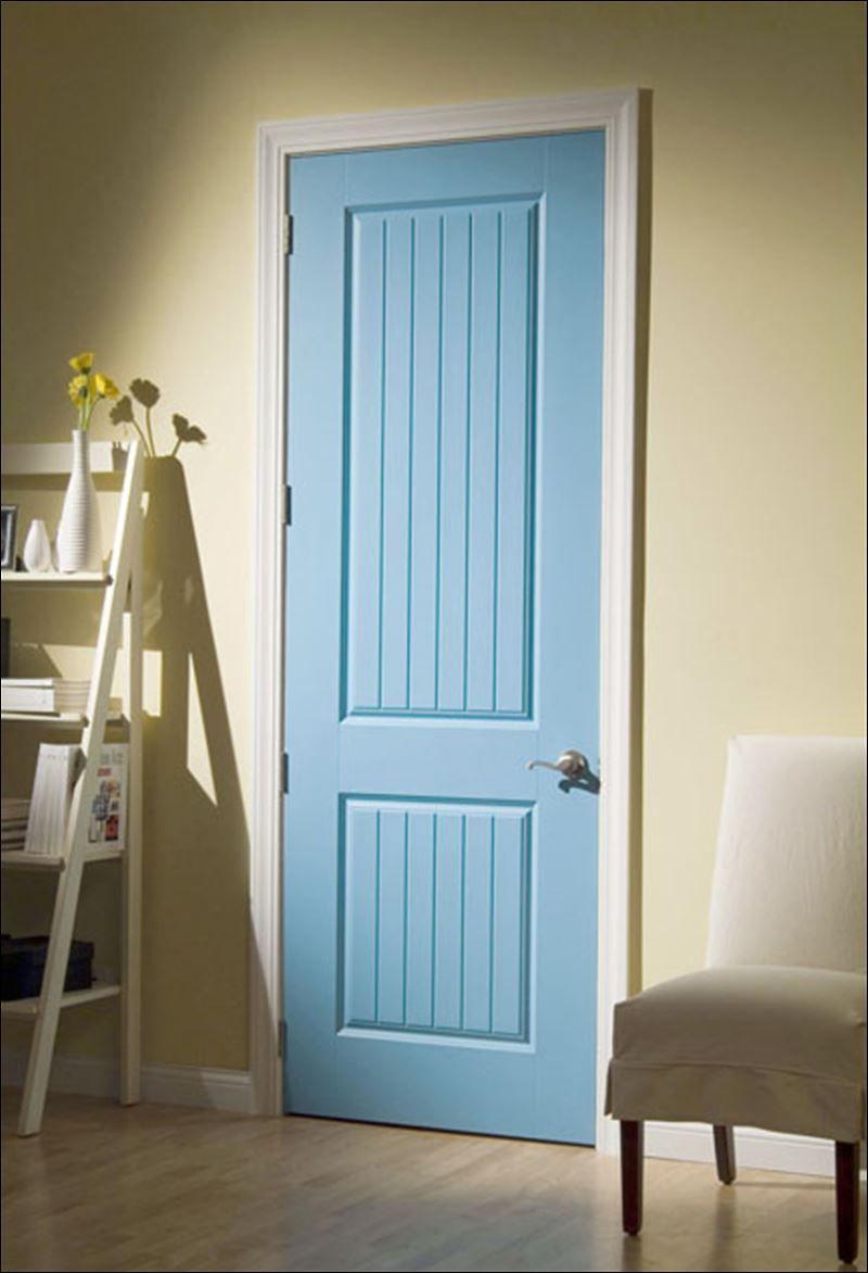 rustic interior brown painted door corvado interior door resembles. Black Bedroom Furniture Sets. Home Design Ideas