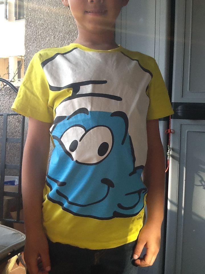 Camiseta pitufo