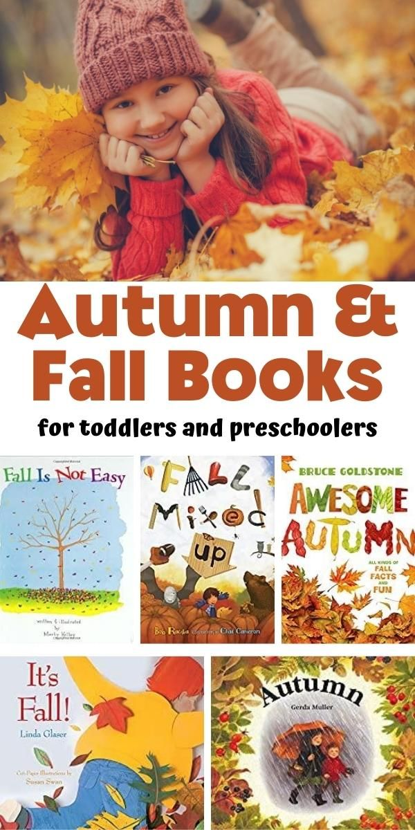 Autumn Books and Stories for Toddlers and Preschoolers in