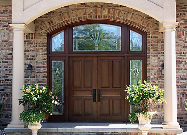 Want these doors for the first house I build   maybe with different glass  though  Double Front  Want these doors for the first house I build   maybe with  . Double Entry Doors With Glass. Home Design Ideas
