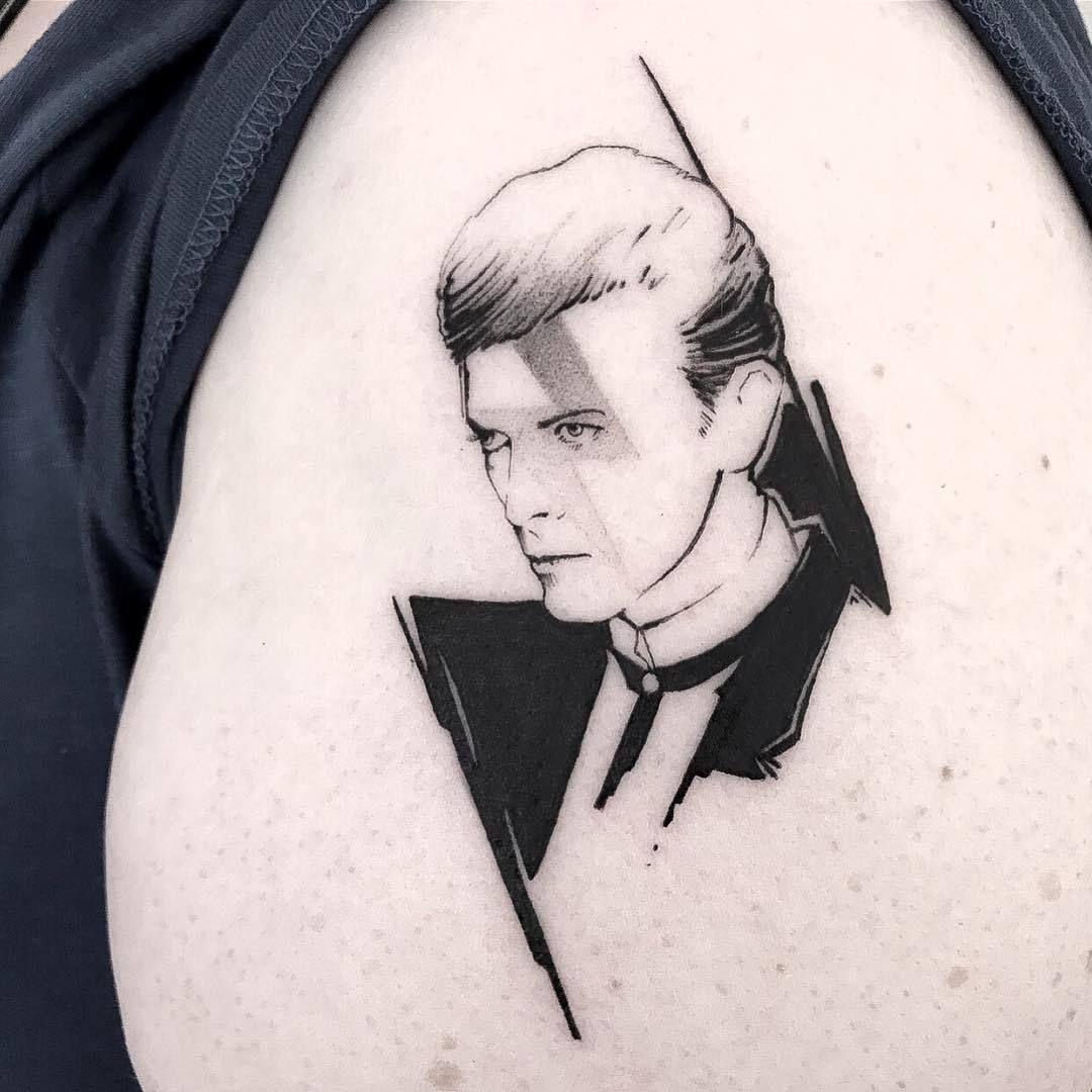 Pin By Arshia Ghafari On Tattoos In 2020 Bowie Tattoo David