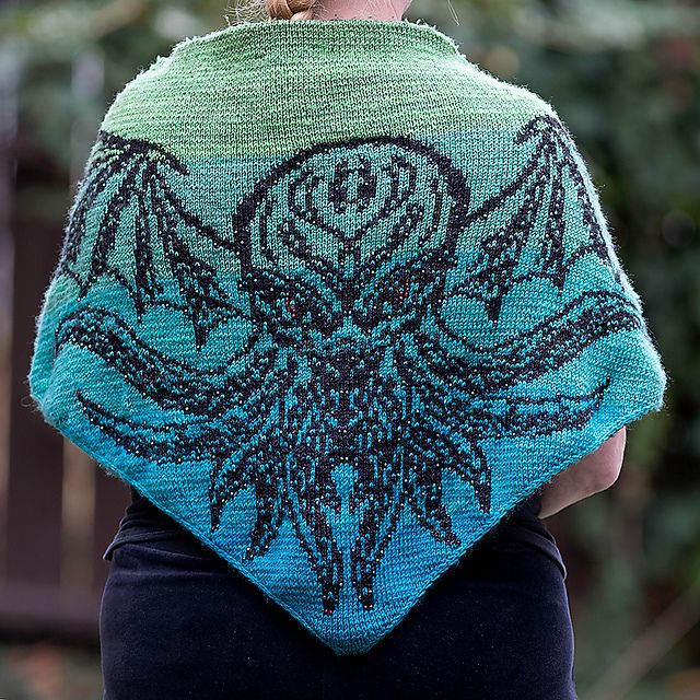 The Great Old One, Cthulhu pattern by Tania Richter | Tricot - Knit ...