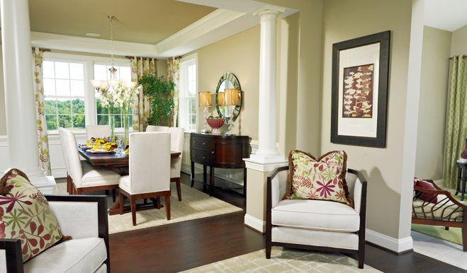 Jackson  Dining Room  Lee's Parke  Richmond American Homes Impressive Private Dining Rooms Richmond Va Decorating Design