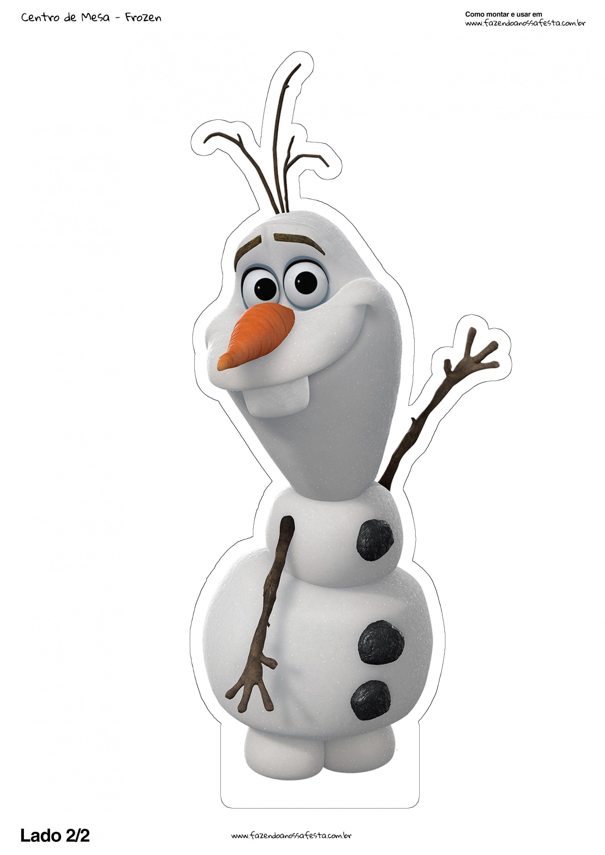 Centro De Mesa Olaf Frozen 2 2 Centros De Mesa De Frozen Mesa