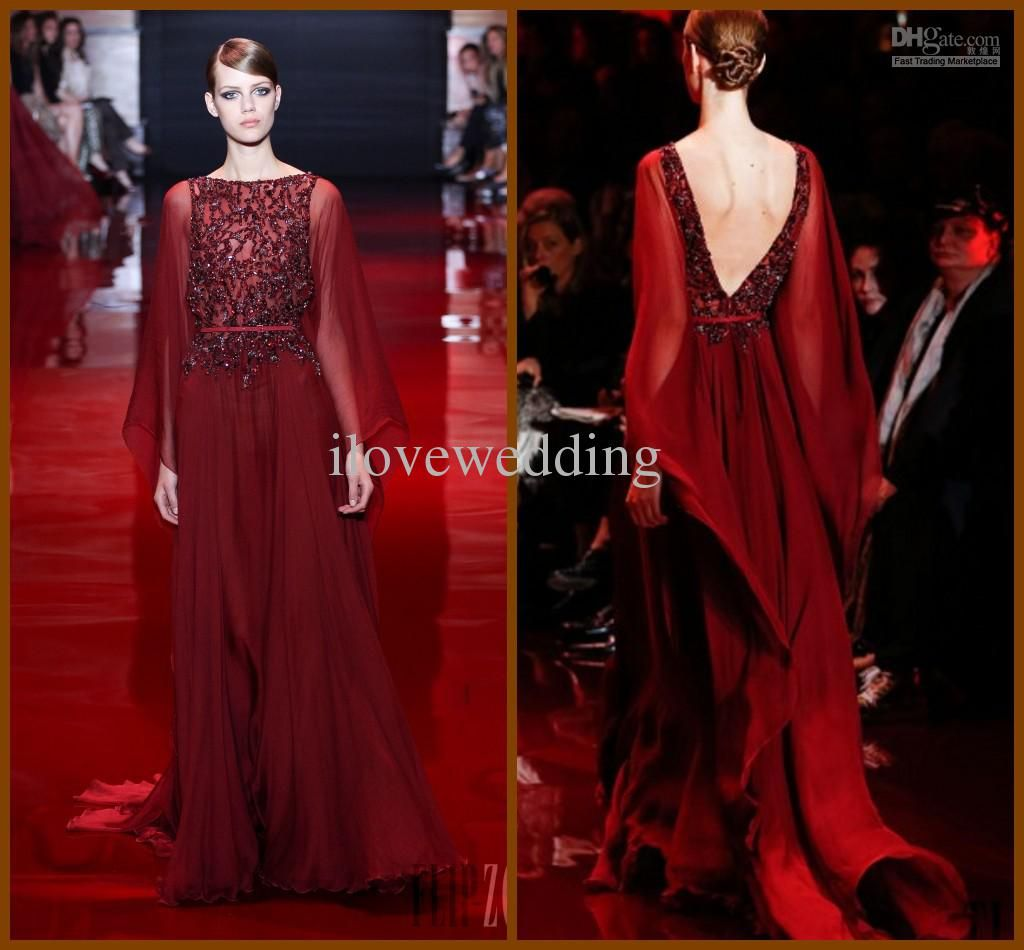 Wholesale long sleeve prom dress buy fashion modern column bateau