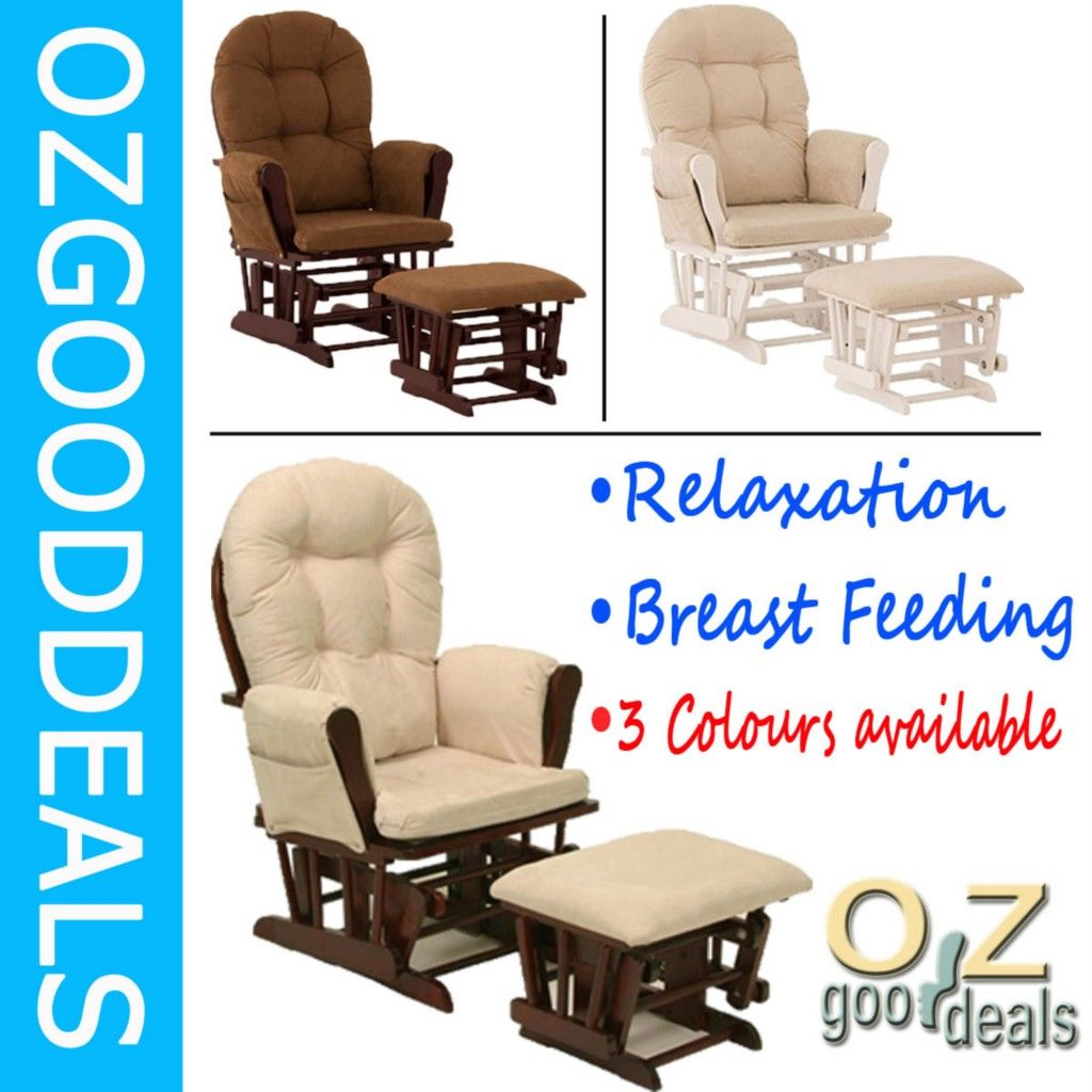 baby glider chair australia beach chairs at lowes wooden breast feeding relaxation rocking with