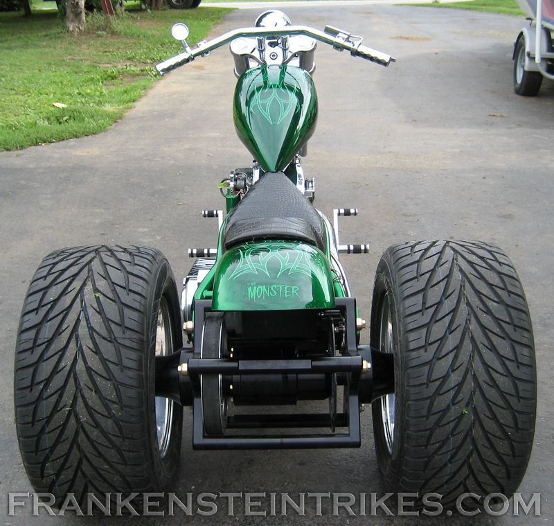 Frankenstein Trike Conversion Kit Custom Photos Trike Motorcycle Harley Davidson Trike Custom Trikes