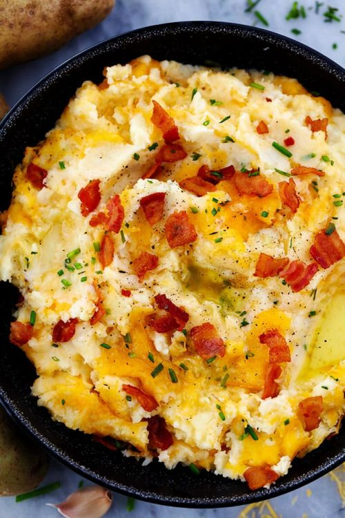 (via Cheddar Garlic Mashed Potato Casserole | The Recipe Critic)