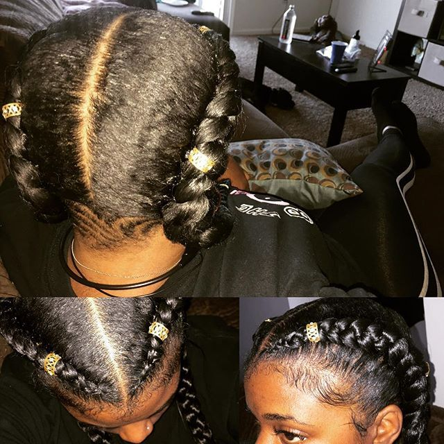 Top 100 protective styles photos #naturallycurly #feederbraids #goddessbraids #voiceofhair #berrycurly #indianbraids #mhc #protectivestyles #braids I BRAID MY OWN HAIR I can braid yours too #bookme #extensions HAIR ADDED THRU ENTIRE BRAID See more http://wumann.com/top-100-protective-styles-photos/