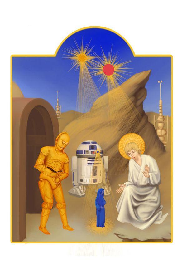 Star Wars in Manuscript by chawakarn khongprasert, via Behance
