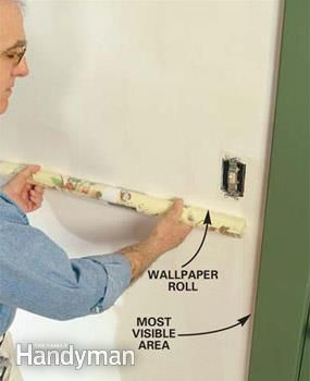 How To Hang Prepasted Wallpaper Prepasted Wallpaper Wallpapering Tips Diy Wallpaper
