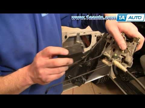 How To Install Replace Door Latch Cable Ford F150 F250 F350 Bronco 80 97 1aauto Com Youtube Door Latch Replace Door Latches