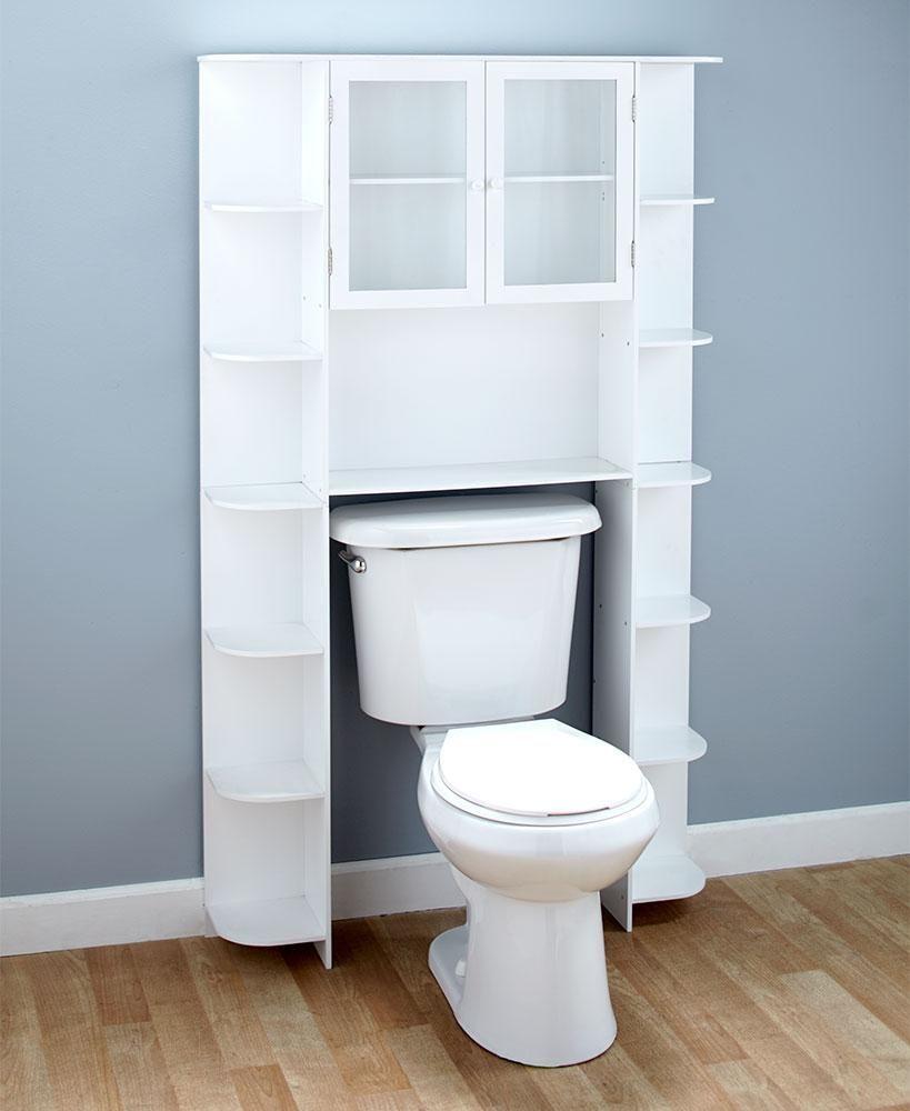 1299938 5 8 W X 8 1 4 D X 64 5 8 H Large Space Saving Over The Toilet Bathroom Sto Muebles De Bano Rusticos Muebles De Bano Baratos Muebles Para Banos Pequenos
