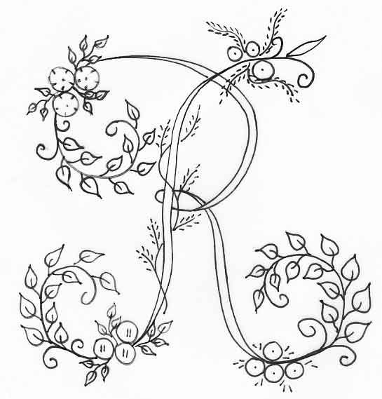 Pin de Dilcéia Motta en Bordados   Pinterest   Bordado, Letras y ...