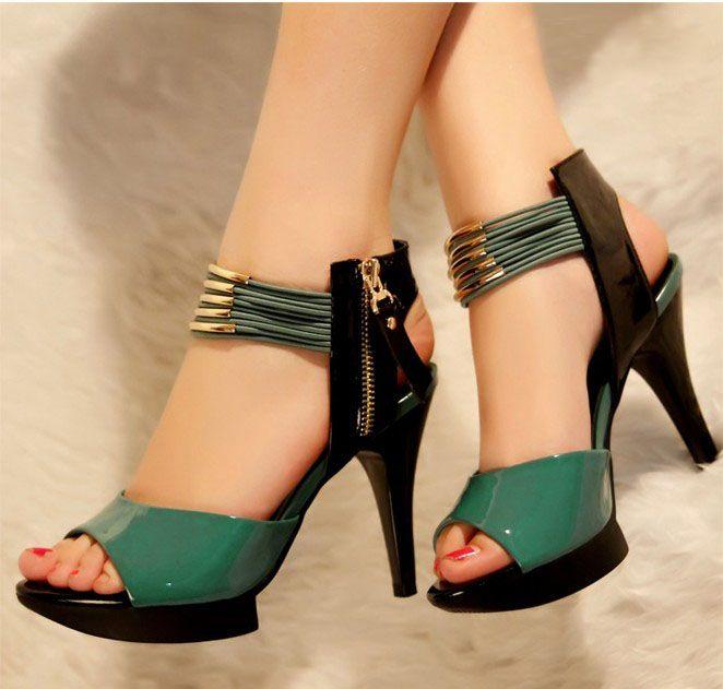 Sapato alto em pele | Sapatos Salsa Jeans