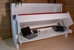 Kombination aus Bett und Schreibtisch » Häfele Functionality ...