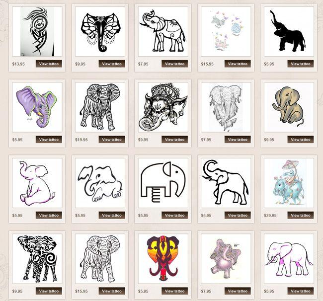Elephant tattoo meaning - photo#5