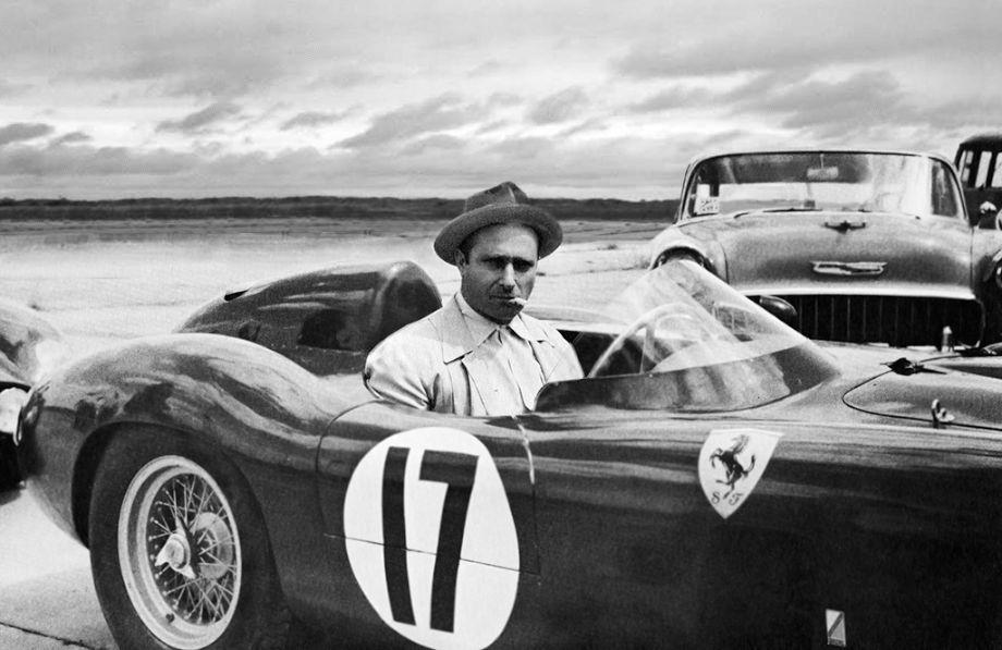 Juan Manuel Fangio 1956 Sebring 12 Hours Endurance race.