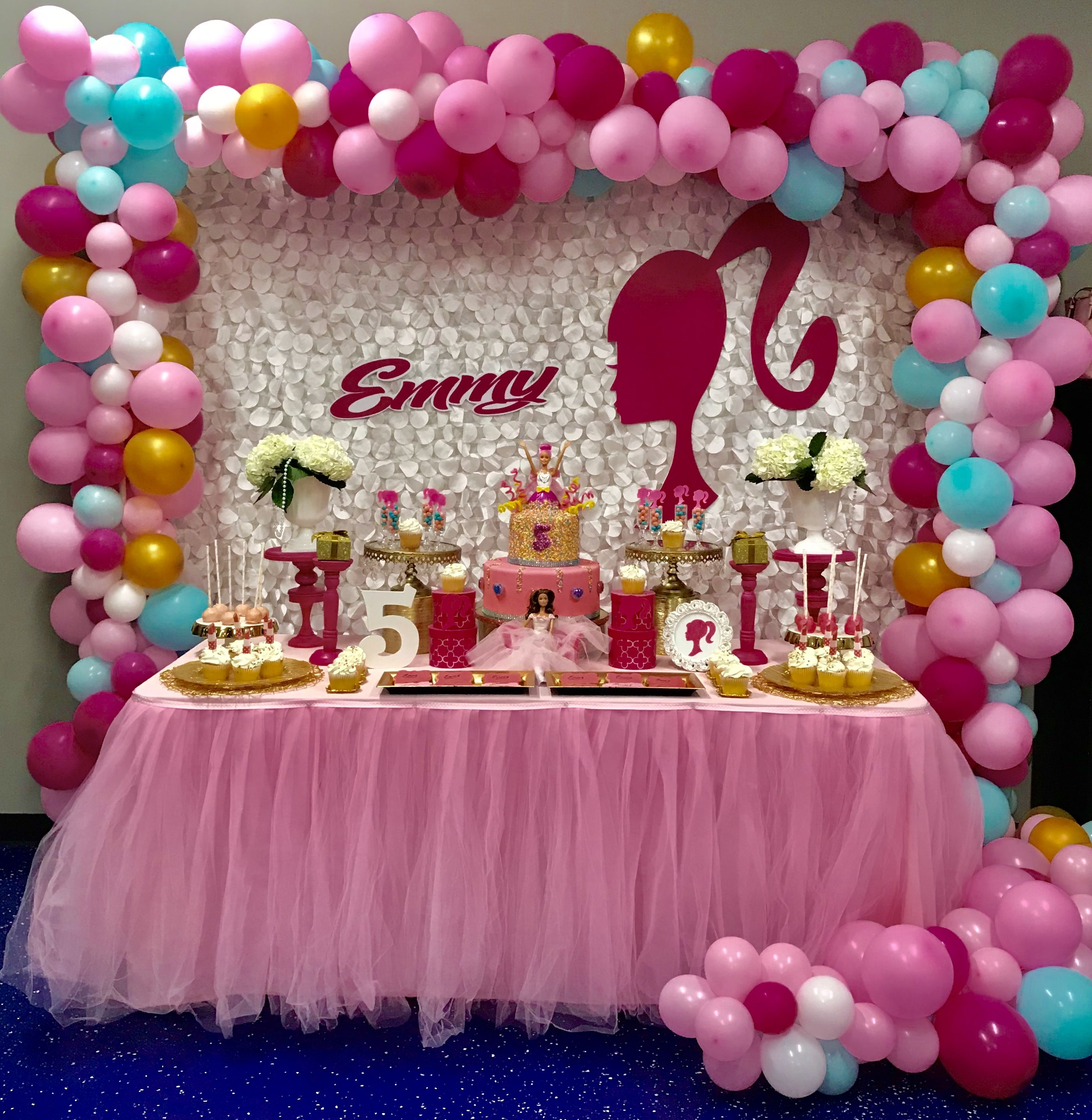 Barbie Birthday Decoration
